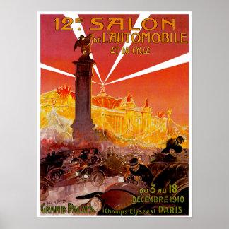 12th Salon de L'Automobile Poster