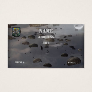 12th special forces group vets flash business Card