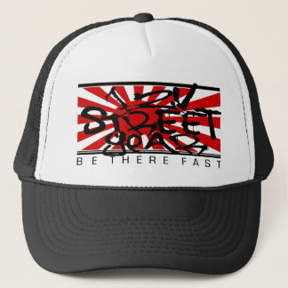 12V FLAG TRUCKER HAT