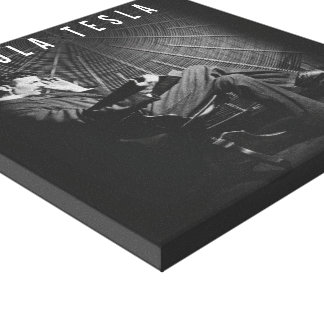 12x12 - Nikola Tesla Canvas