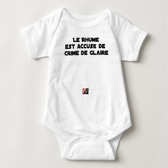 1308123_15421939_Le Rhume is shown of Crime of G Baby Bodysuit