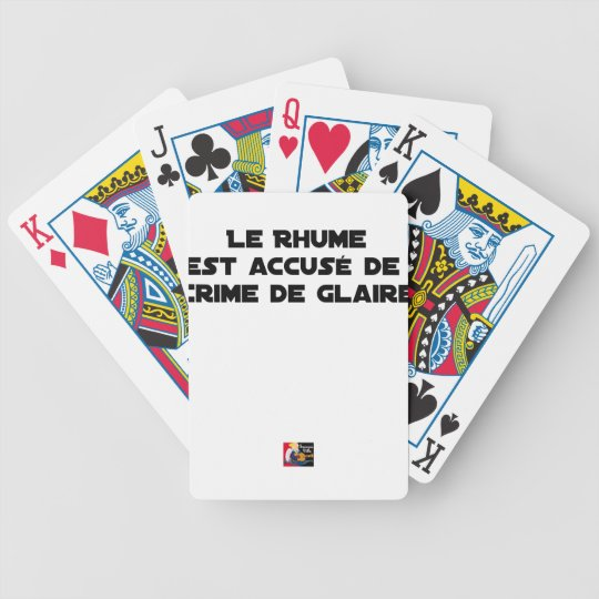 1308123_15421939_Le Rhume is shown of Crime of G Bicycle Playing Cards