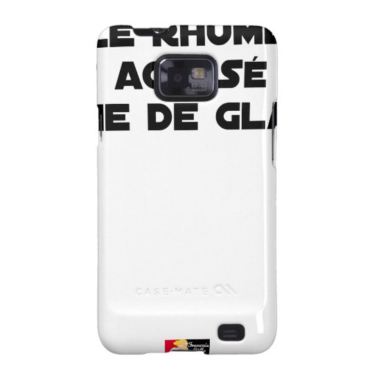 1308123_15421939_Le Rhume is shown of Crime of G Samsung Galaxy SII Cover