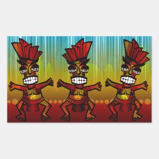 1312743176_Vector_Clipart Hawaiian Tiki men Sticker