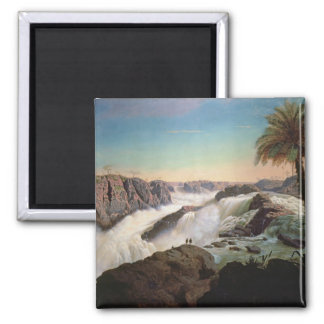 131-0059242 The Paulo Alfonso Falls, 1850 Square Magnet