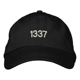 1337 EMBROIDERED HAT
