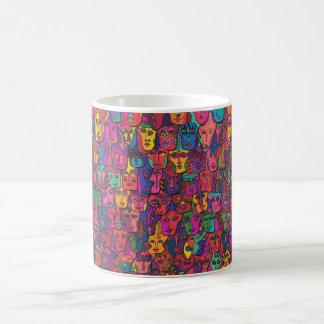 133 Faces of Change Coffee Mug