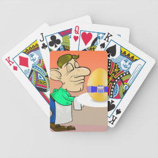 133Waiter_rasterized Bicycle Playing Cards