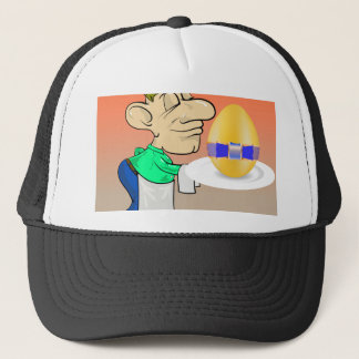 133Waiter_rasterized Trucker Hat
