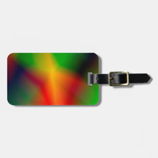 134Abstract Background_rasterized Luggage Tag