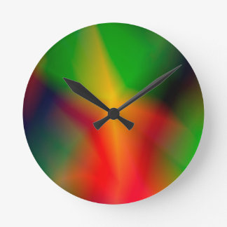 134Abstract Background_rasterized Round Clock