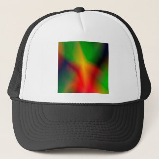 134Abstract Background_rasterized Trucker Hat