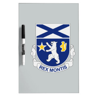 136th Infantry Regiment Dry Erase Whiteboards
