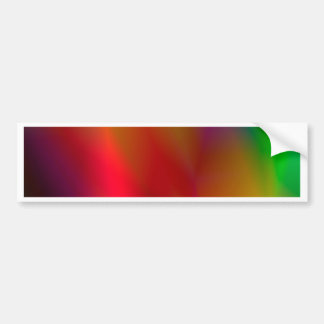 138Abstract Background_rasterized Bumper Sticker
