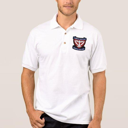 138th Avn Co 4 Polo Shirt