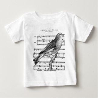 1394 JPG Bird French Song.jpg Shirts