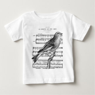 1394 JPG Bird French Song.jpg Shirts