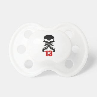 13 Birthday Designs Pacifier