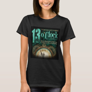 13 O'Clock Fancy Logo Black Shirt