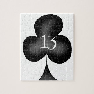 13 of clubs jigsaw puzzle