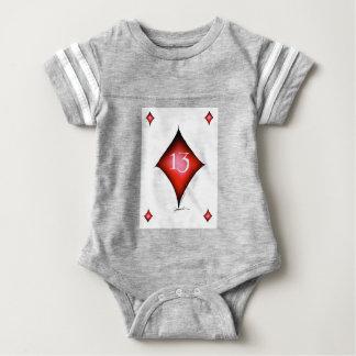 13 of diamonds baby bodysuit