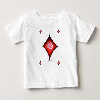 13 of diamonds baby T-Shirt