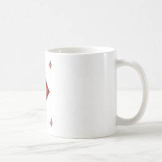 13 of diamonds coffee mug