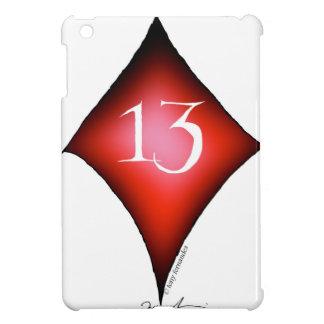 13 of diamonds iPad mini cover