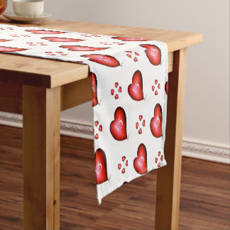 13 of Hearts Short Table Runner