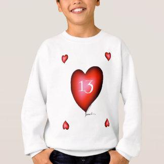 13 of Hearts Sweatshirt