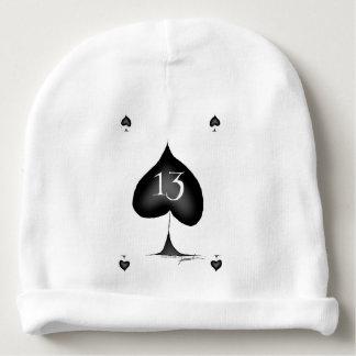 13 of spades baby beanie