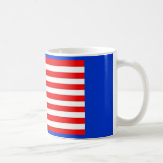 13 STAR AMERICAN FLAG CLASSIC WHITE COFFEE MUG