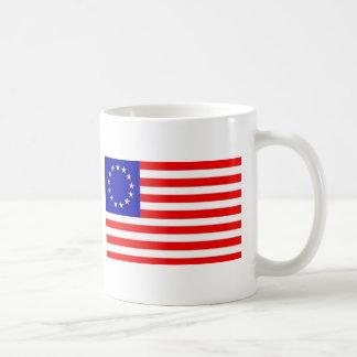13 STAR AMERICAN FLAG COFFEE MUG