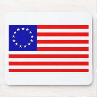 13 STAR AMERICAN FLAG MOUSE MATS