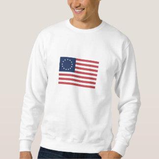 13 Star American Flag Sweatshirt
