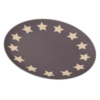 13 Stars Party Plates
