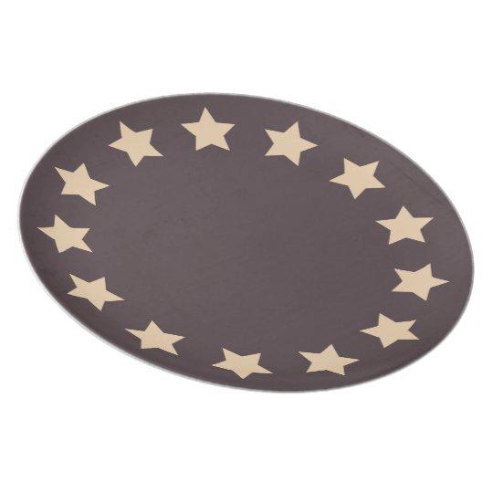 13 Stars Plate