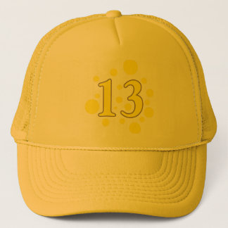 13-Thirteen Trucker Hat