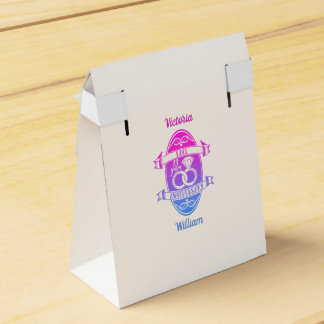 13 Year traditional Lace 13th wedding anniversary Favor Box