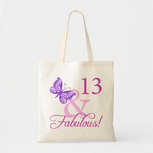 13ème anniversaire fabuleux sacs