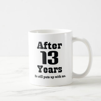13th Anniversary (Funny) Coffee Mug