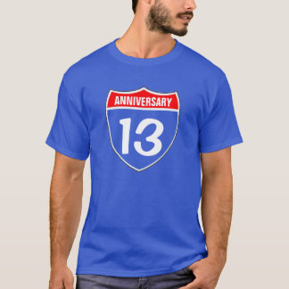13th Anniversary T-Shirt