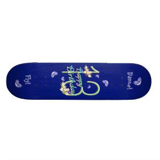 13th Birthday Butterfly Dance Deck Custom Skateboard