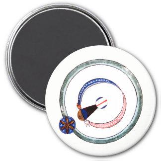 13th Century Solar Eclipse Magnet