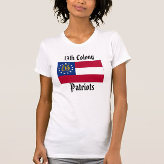 13th Colony Patriots- Women - GA off your mind T-Shirt