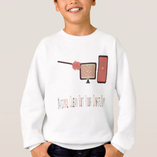 13th February - Clean Out Your Computer Day Sweatshirt