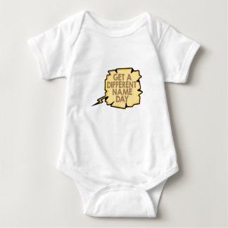 13th February - Get A Different Name Day Baby Bodysuit