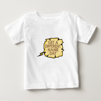 13th February - Get A Different Name Day Baby T-Shirt