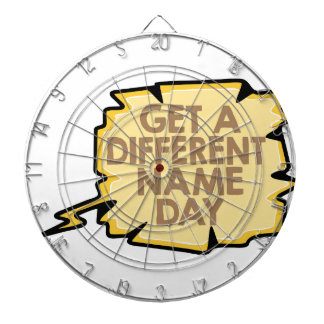 13th February - Get A Different Name Day Dartboard
