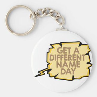 13th February - Get A Different Name Day Keychain
